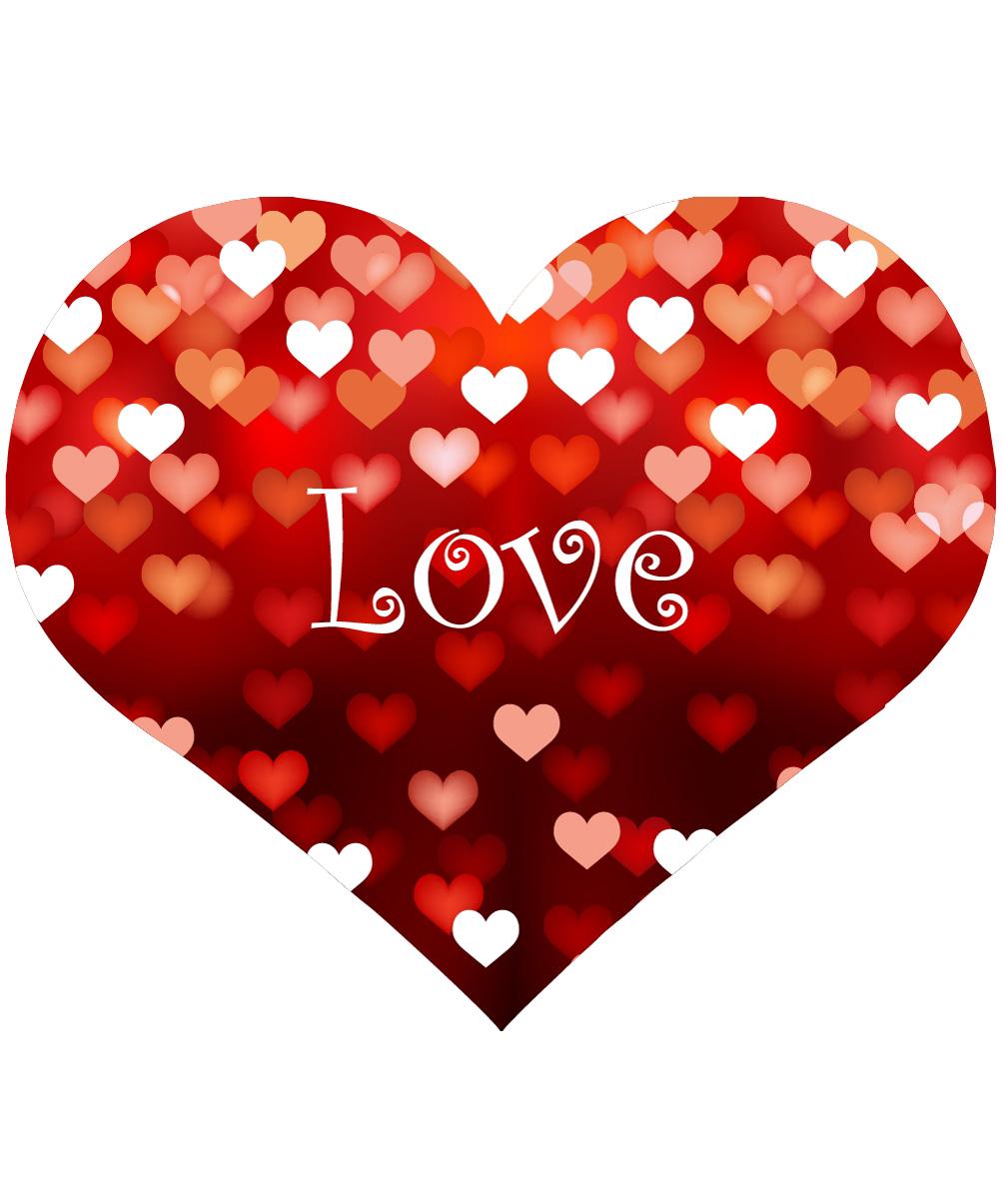 много любви картинки