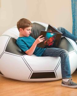 68557 Надувное кресло Футбольный мяч