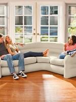68575 Надувной угловой диван Corner Sofa